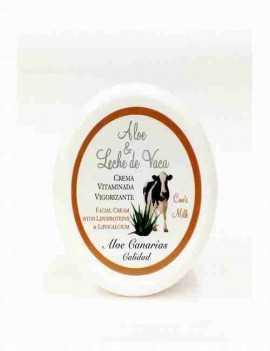 Crema De Cara con Aloe Vera y Leche de Vaca