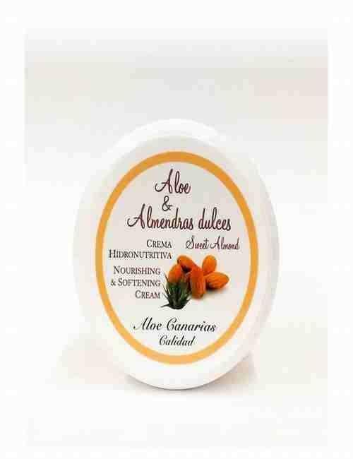Crema de Cara Con Aloe Vera y Almendras Dulces