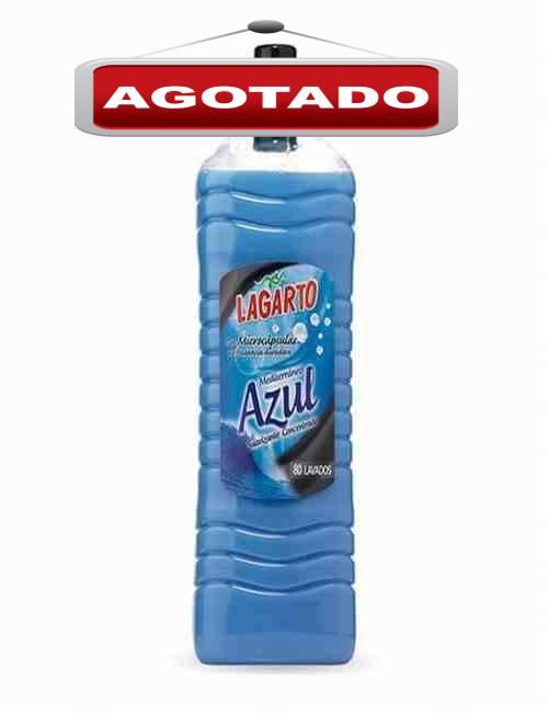 Suavizante Concentrado para el cuidado de la Ropa Aroma Azul Lagarto