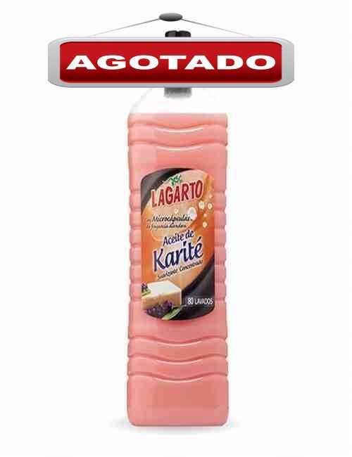 Suavizante Concentrado para el cuidado de la Ropa Aroma Karite Lagarto